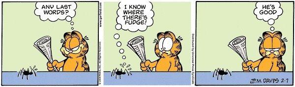 Garfield - He's good