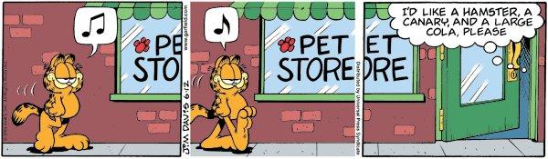 Garfield - Fast Food