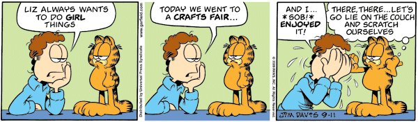 Garfield - Crafts fair