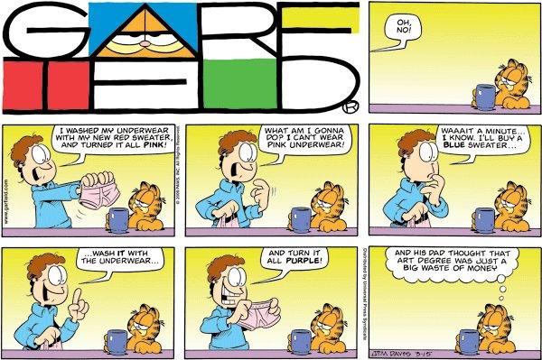 Garfield - Art Degree