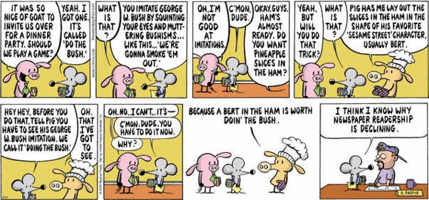 Pearls Before Swine - Pun