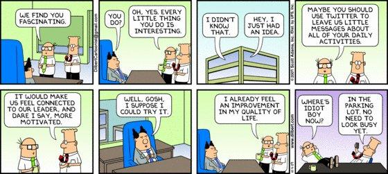 Dilbert - Twitter