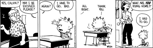 Calvin and Hobbes - Go