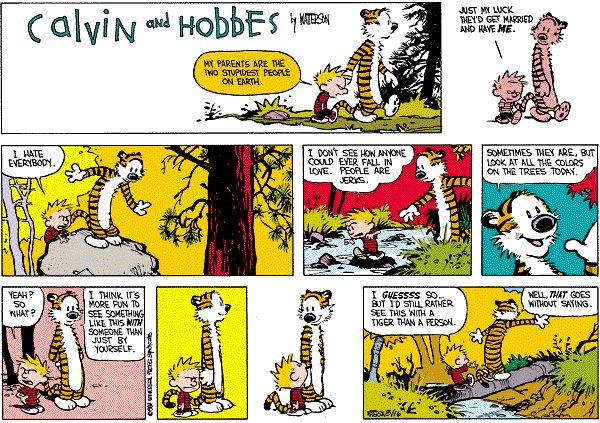 Calvin and Hobbes - People