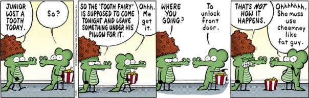 Pearls Before Swine - The Tooth Fairy