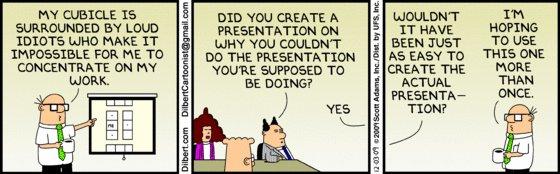 Dilbert - Presentation