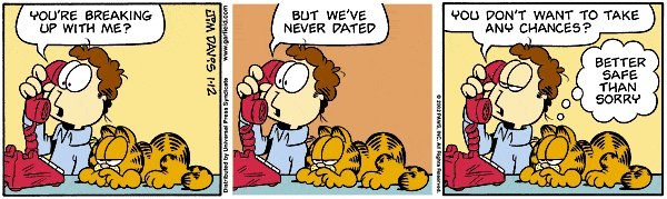 Garfield - Better safe than sorry