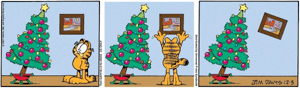 Garfield Christmas Comic