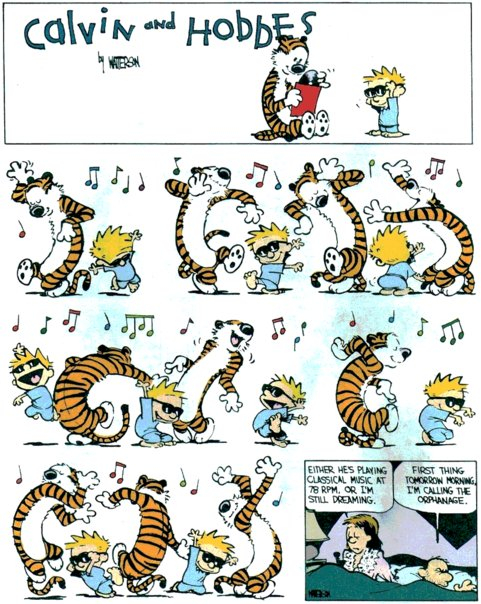 Calvin and Hobbes - Dance