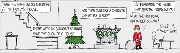 XKCD - The Night Before Christmas