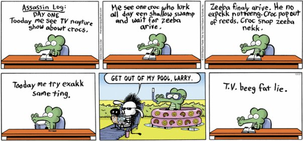 Pearls Before Swine - Hunting Zeeba