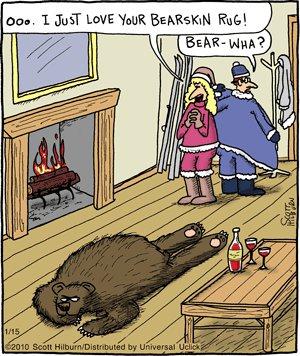 The Argyle Sweater - Bearskin Rug