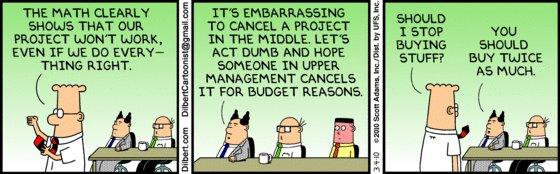 Dilbert - Budget