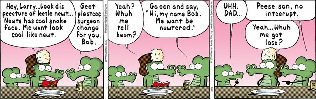Pearls Before Swine - Newtered