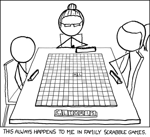 XKCD - Family Scrabble