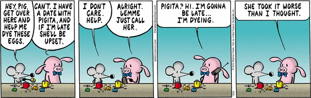 Pearls Before Swine - Dyeing
