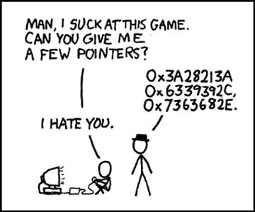 XKCD - Pointers