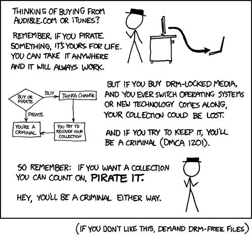XKCD - Piracy