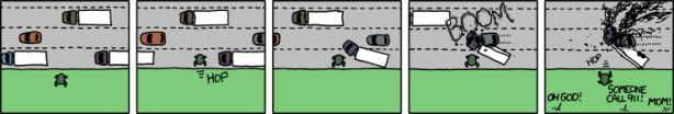 XKCD - Frogger
