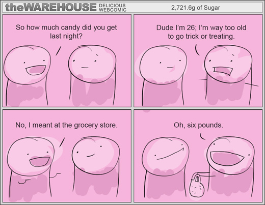 The Warehouse Comic - Trick or Treat