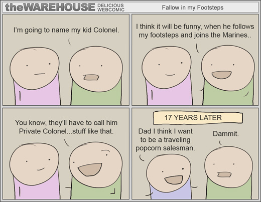 The Warehouse Comic - Colonel