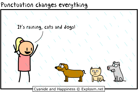 Cyanide and Happiness - Punctuation
