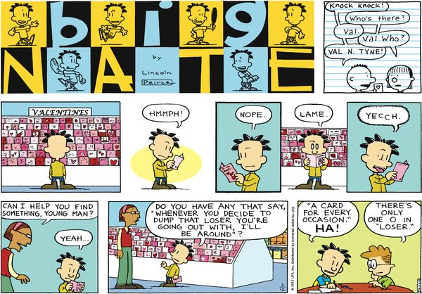 Big Nate - A card for every occasion
