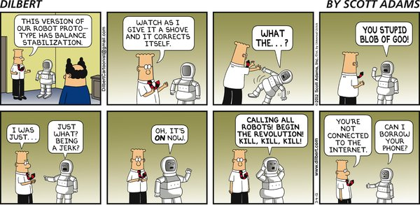 Dilbert - It's ON!