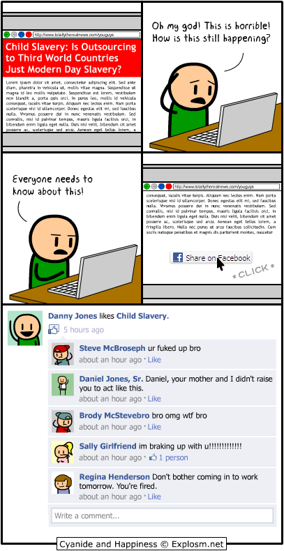 Cyanide and Happiness - Child Slavery