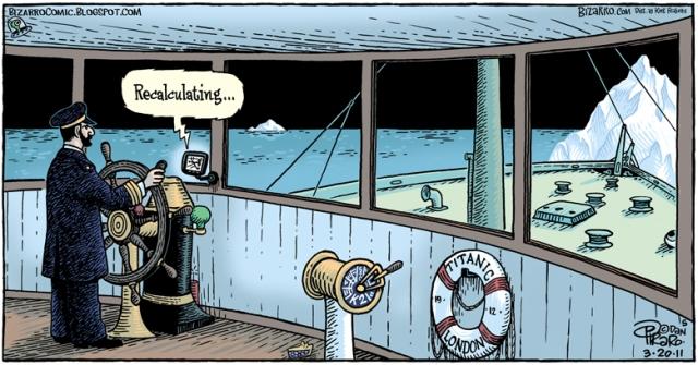 Bizarro - Titanic