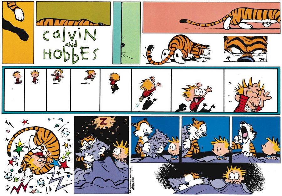 The MILF calvin comic hobbes kittel strip