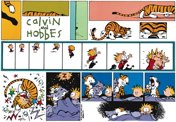 Calvin and Hobbes - Tiger Nightmares