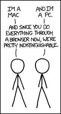 XKCD - Mac vs PC