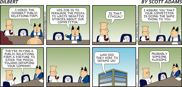 Dilbert - Someone Awesome