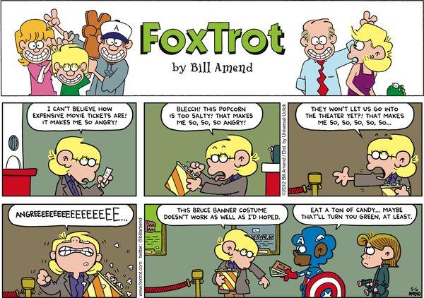 FoxTrot - Bruce Banner