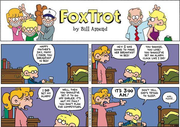 FoxTrot - Mother's Day