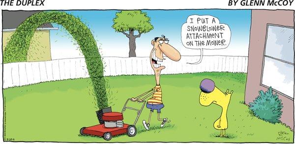 The Duplex - Lawnblower