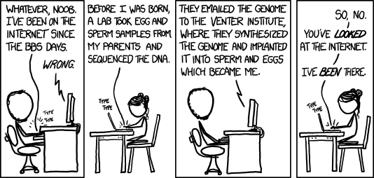 XKCD - Been there