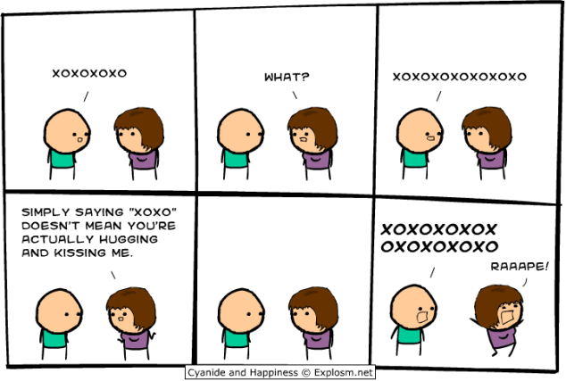 Cyanide and Happiness - Haaaaalp