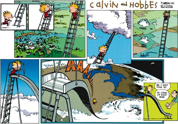 Calvin and Hobbes - Sliiiiide