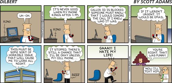 Dilbert - Urgent