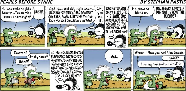 Pearls Before Swine - Einstein