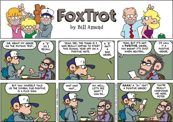 FoxTrot - B Positive