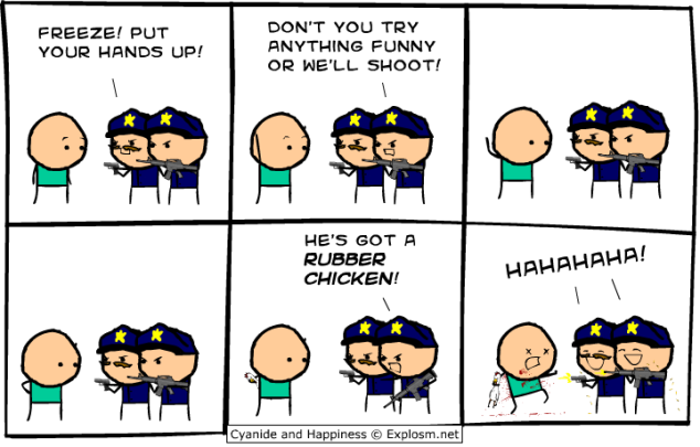 Cyanide and Happiness - No laughing matter