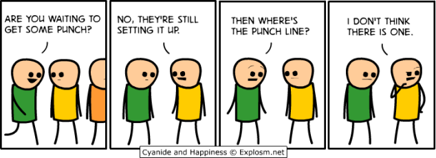 Cyanide and Happiness - Punch Line