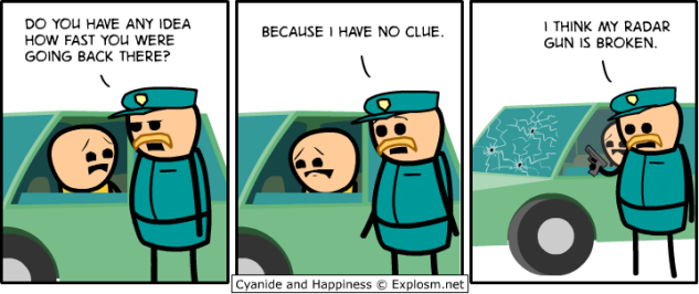 Cyanide and Happiness - Rookie Cop