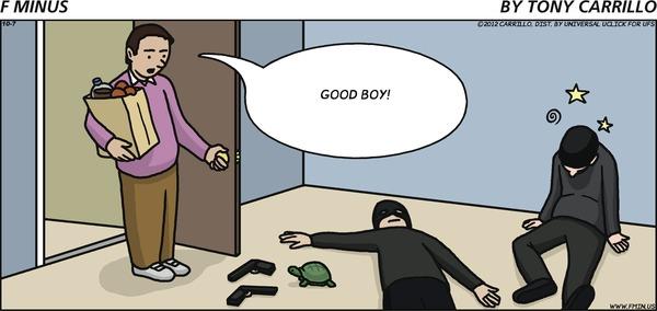 F Minus - Ninja Turtle