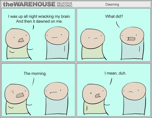 The Warehouse - Dawned on me