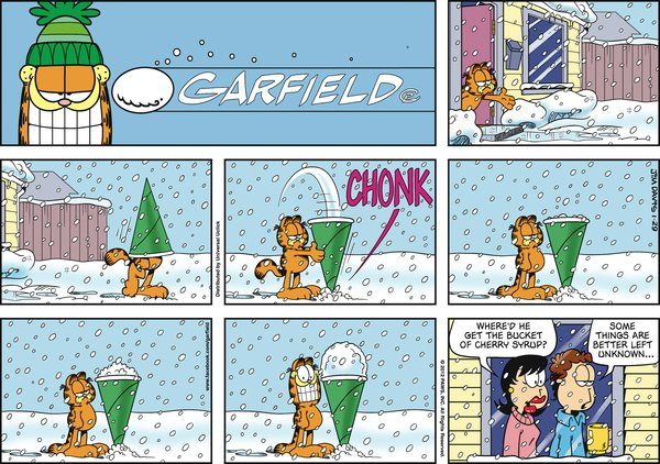 Garfield - Snow Cone