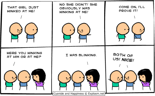 Cyanide and Happiness - Blinking